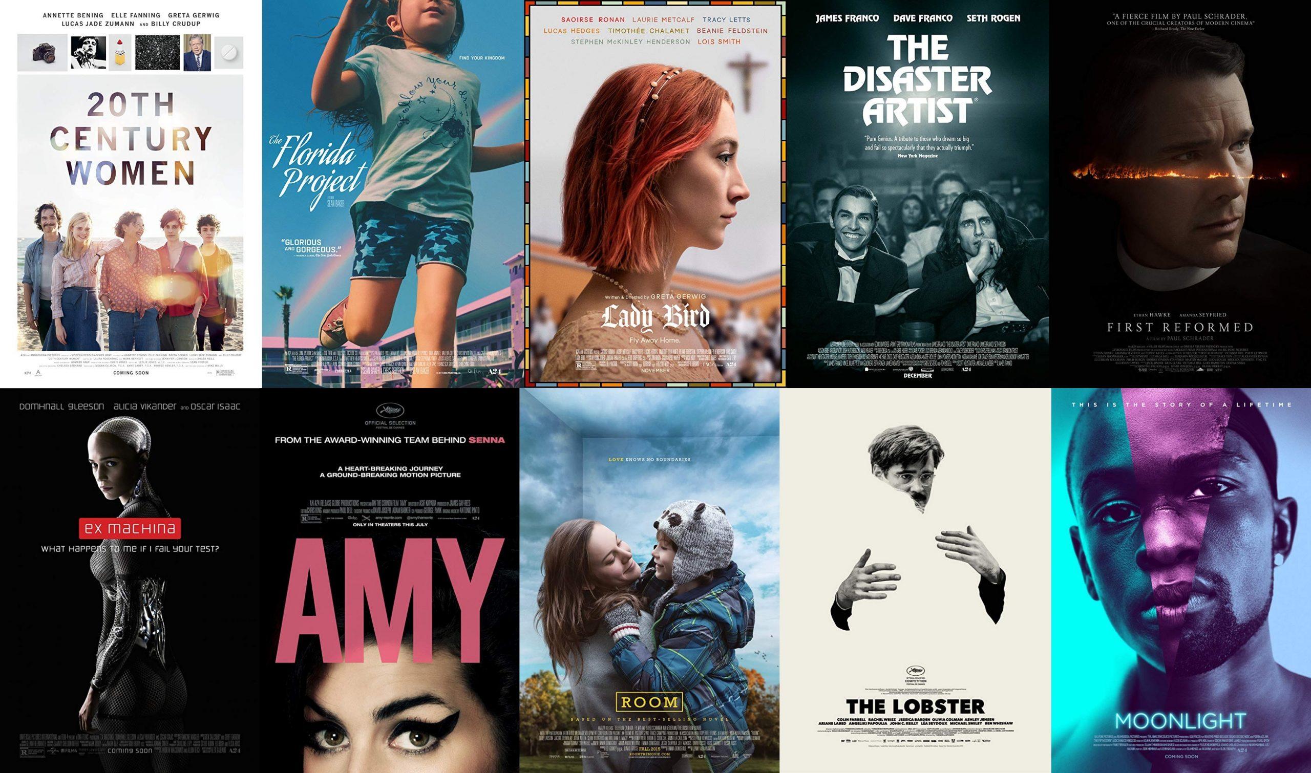 A24映画の配給会社やメーカーなどの内訳