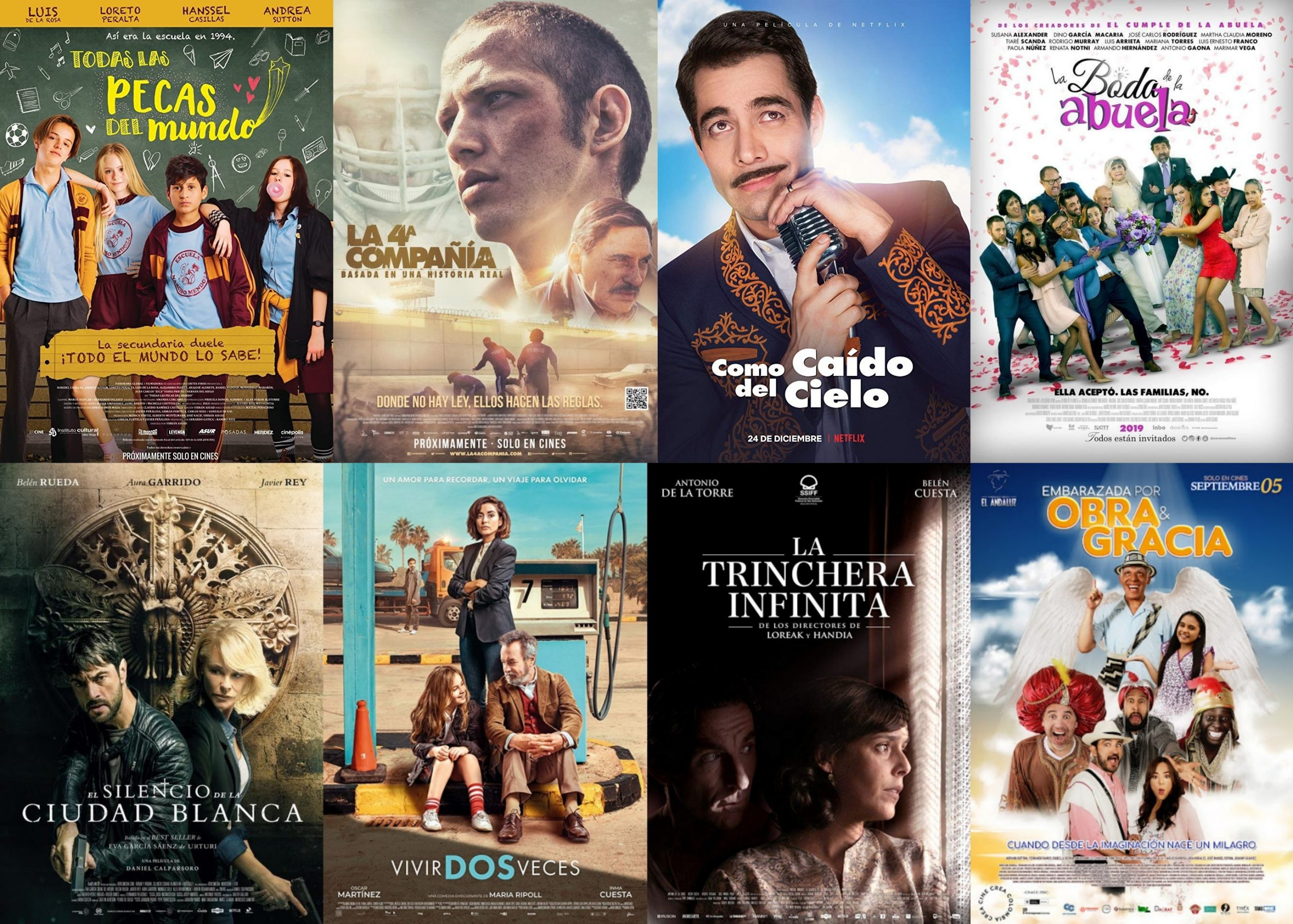 Netflixで言語設定を英語に変更すると視聴可能な映画(スペイン語映画編)