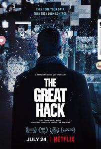 The Great Hack グレート・ハック: SNS史上最悪のスキャンダル