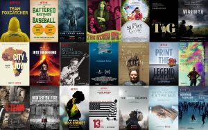 IMDbでの点数が7点以上のNetflixオリジナル映画(2013年〜2016年のドキュメンタリー編)
